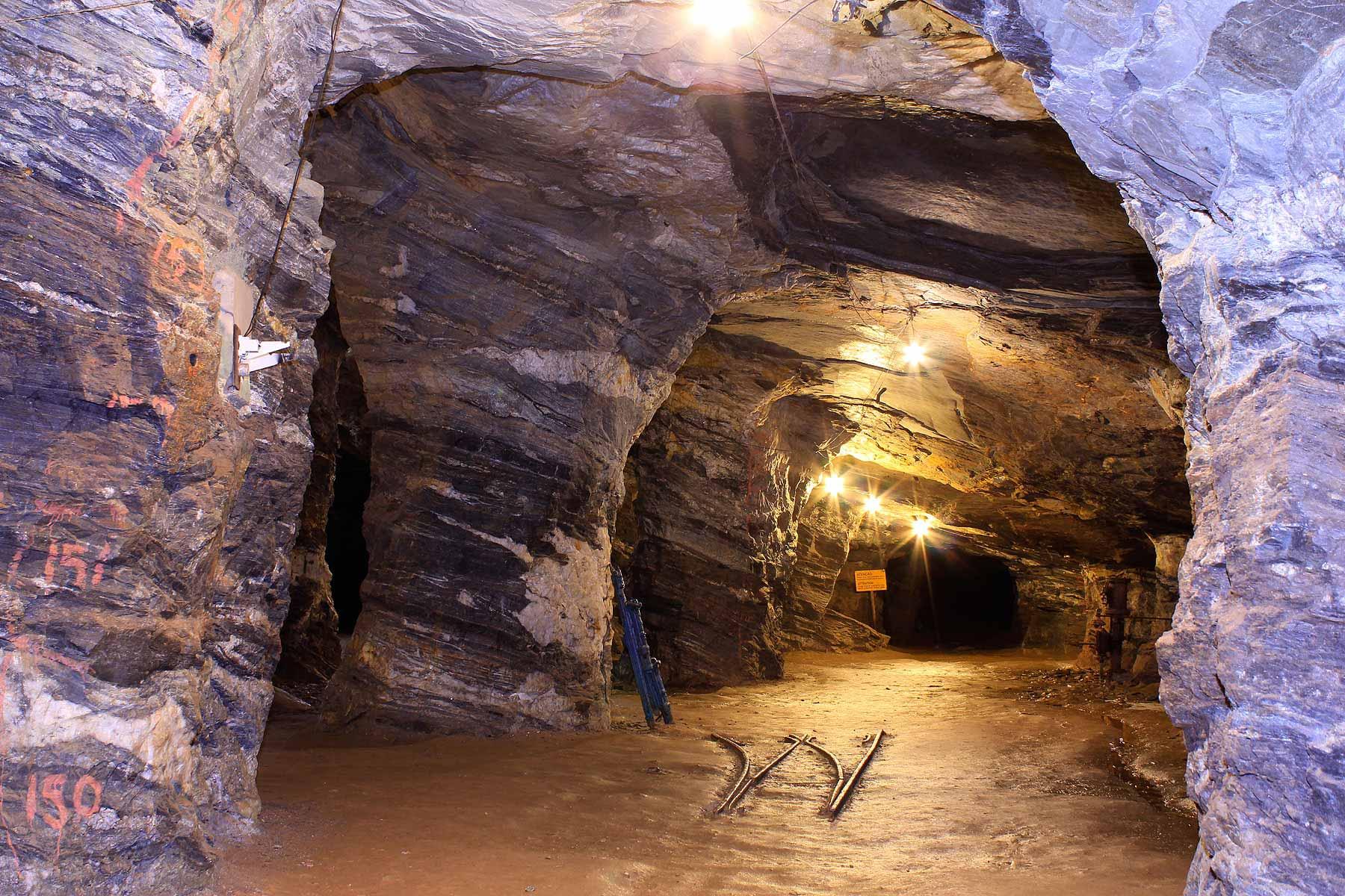 Galeria da Mina da Passagem, exemplo de fechamento de Mina em Mariana