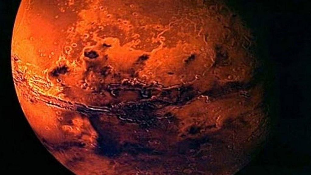 Imagem ilustrativa de Marte