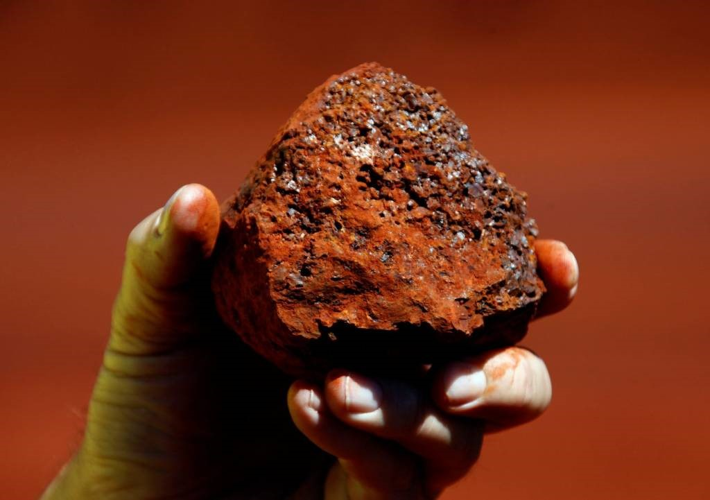 Minério de Ferro, principal insumo para a indústria siderúrgica